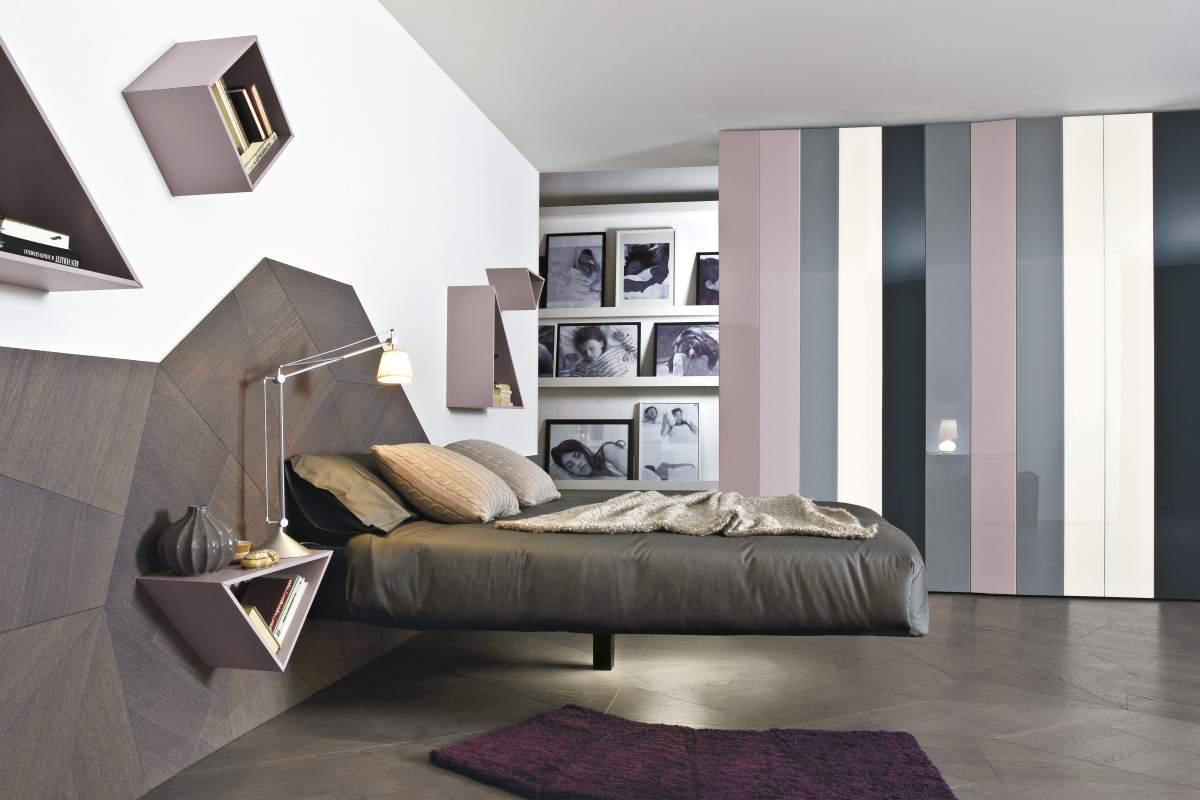 Letto fluttua lago spazio schiatti for Design camera da letto matrimoniale