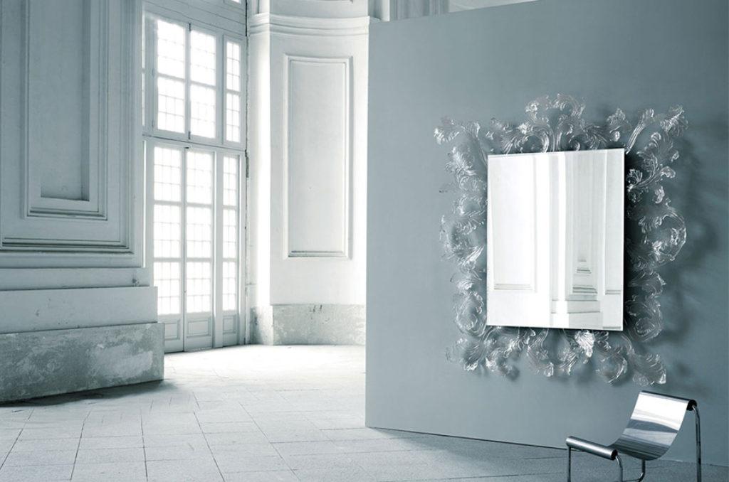 Specchio Sturm und drang glas italia