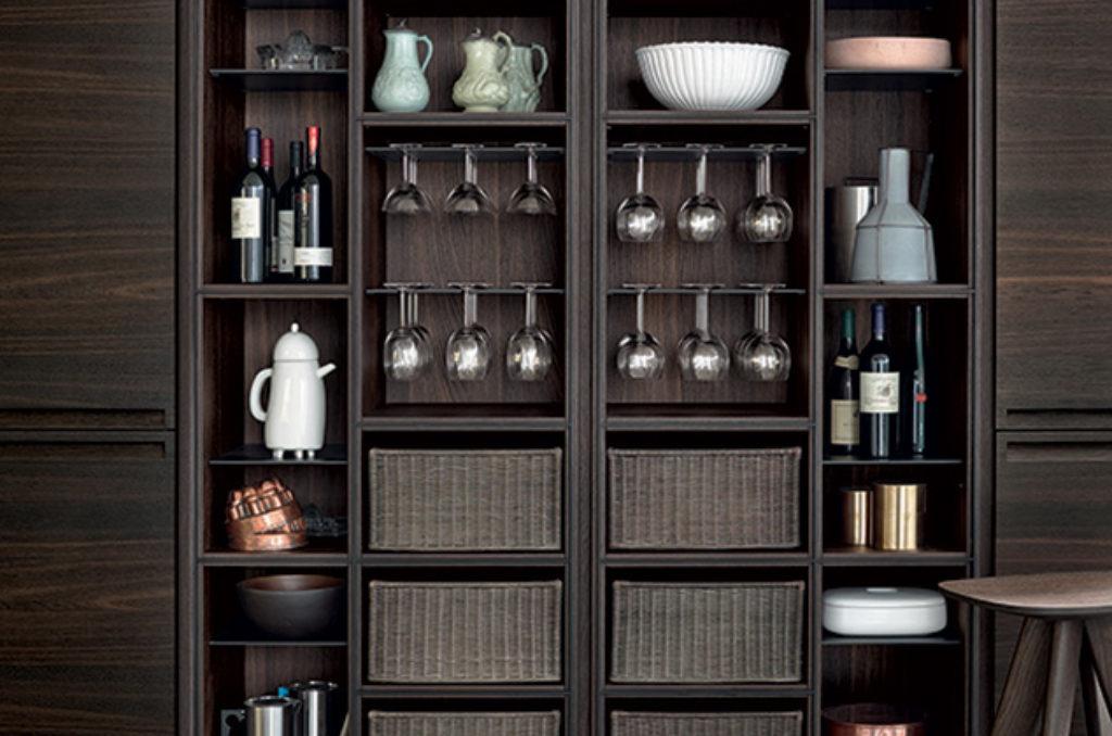 Cucina Minimal Varenna : Cucina minimal varenna poliform spazio schiatti