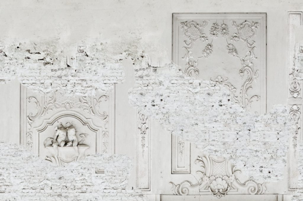 Carta da parati Stucco wall & deco