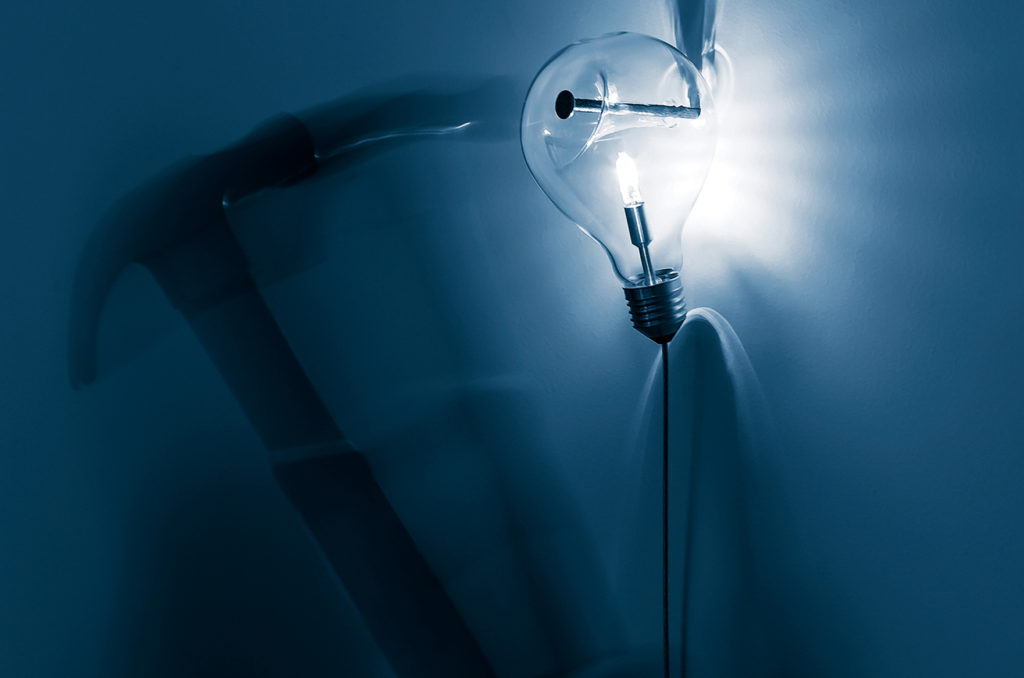 Lampada Edison's Nightmare davide groppi