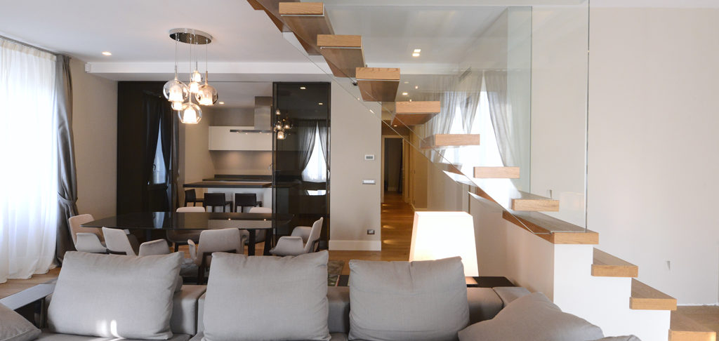 spazio schiatti appartamento parco SEMPIONE MILANO