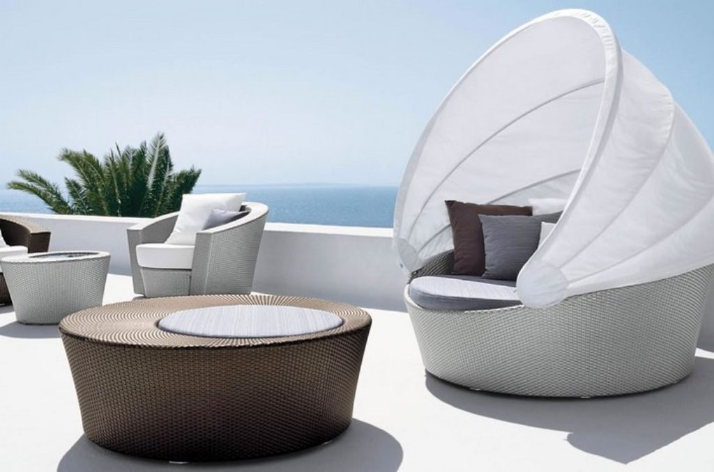 divano isola orbit dedon