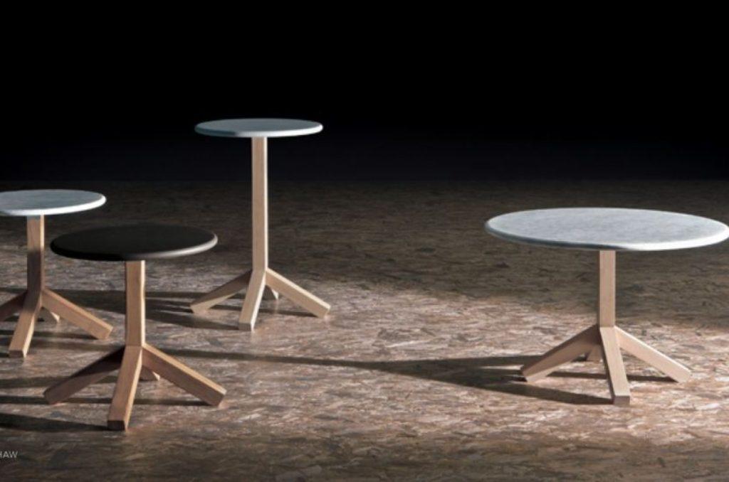collezione tavolini outdoor root roda