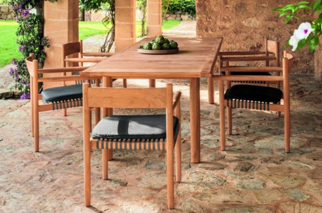 collezione outdoor tibbo dining dedon
