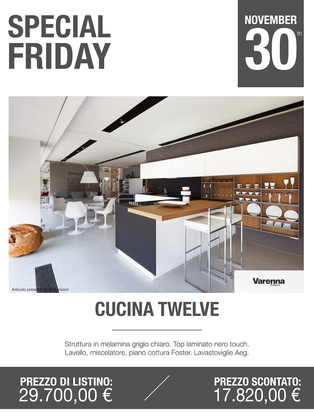 cucina Twelve Special Friday