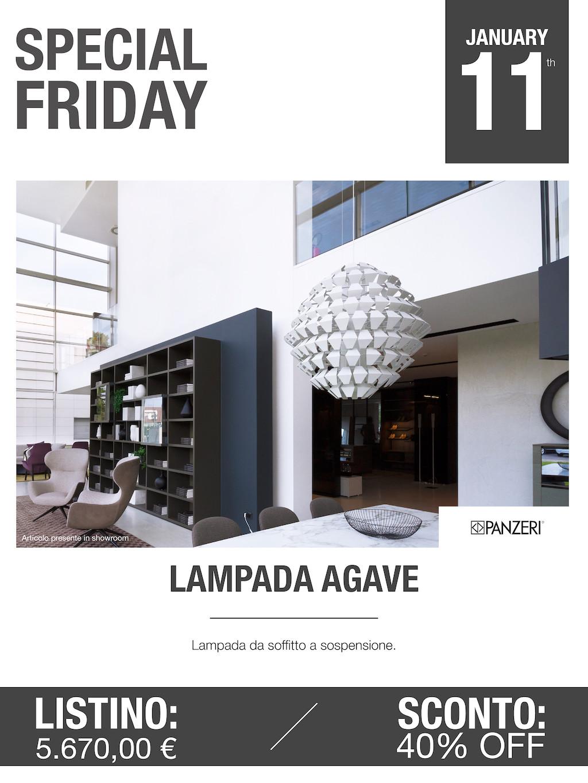 lampada agave panzeri Special Friday