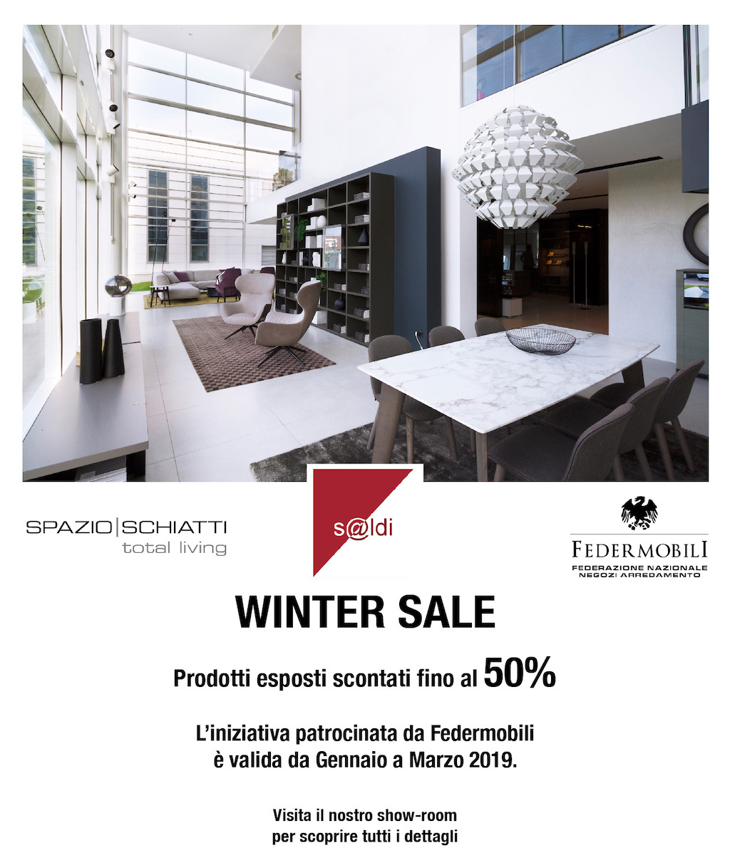 winter sales with Federmobili