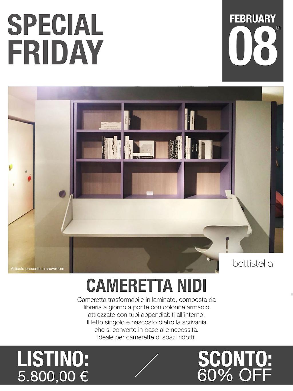 cameretta modello nidi battistella Special Friday