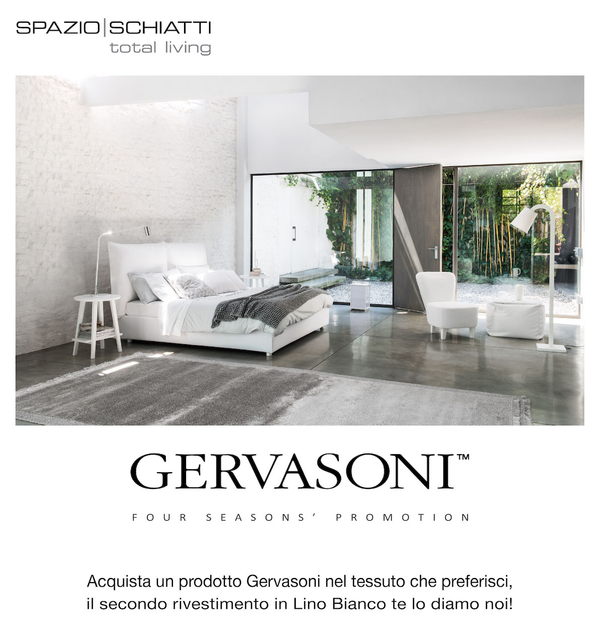 Spazio Schiatti - Gervasoni Four Seasons' Promotion